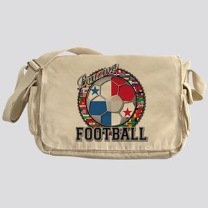 Panama Flag World Cup Footbal Messenger Bag
